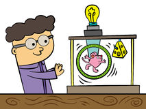 Science fair project Royalty Free Stock Photography