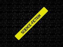 SCIENCE-FICTION - изображение при слова связанные с КИНО темы, слово, изображение, иллюстрация стоковое фото rf
