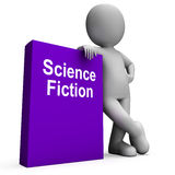 Science Fiction Book And Character Shows SciFi Books Stock Photo