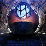 Science Fiction Concept Tunnel Environment Royalty Free Stock Image