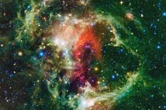 Science fiction space wallpaper, galaxies and nebulas in awesome cosmic image. Elements of this image furnished by NASA royalty free stock photos