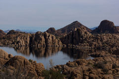 Science Fiction. Watson Lake located in Prescott Arizona Royalty Free Stock Photos