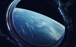 Science fictionart. Schoonheid van diepe ruimte Elementen van dit die beeld door NASA wordt geleverd royalty-vrije stock afbeeldingen