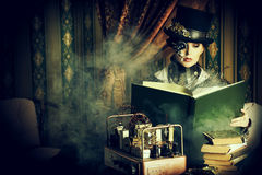 Science fictionliv royaltyfria foton