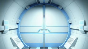 Science fictiontunnel stock illustrationer