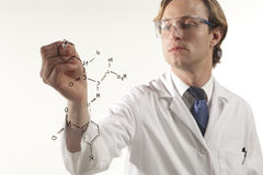 Science in focus royalty free stock photos