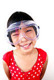 Science girl 1 Stock Images