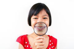 Science girl 3 Royalty Free Stock Photo