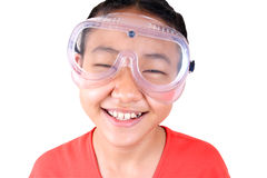 Science girl 5 Stock Images