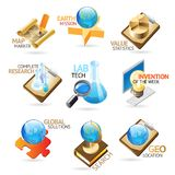 Science headers Royalty Free Stock Image