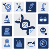 Science icon Royalty Free Stock Photo
