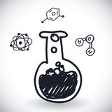 Science icon design Stock Images