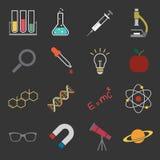 Science icon Stock Photos