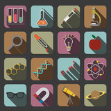 Science icon Stock Photography
