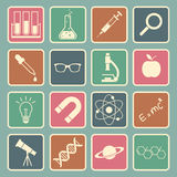 Science icon Stock Images