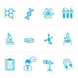 Science icon Stock Photos
