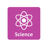 Science icon for web and mobile Royalty Free Stock Images