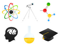 Science icon2 Stock Photo