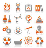 Science icon4 Stock Image