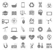 Science icon5 Royalty Free Stock Photography