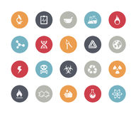 Science Icons // Classics Series Stock Photography