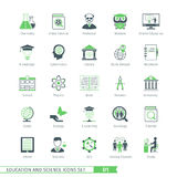 Science Icons Set 01 Royalty Free Stock Photo