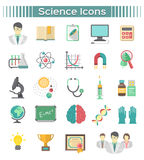 Science Icons royalty free illustration