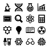Science Icons Set. Vector Stock Photos