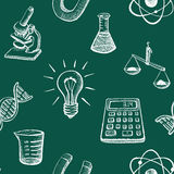 Science Icons Sketch Stock Photo