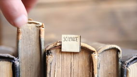 Science idea stock video