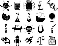 Science, Illustration series Stock Images