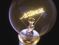Science Incandescent Light Bulb Stock Images