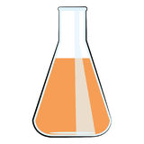 Science lab equipment vector illustration