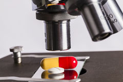 Science lab research safe of new drugs Stock Photography