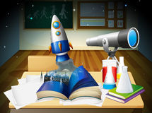 A science lab room Stock Image