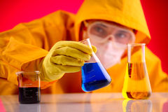Science laboratory Stock Image