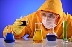 Science laboratory Stock Photo