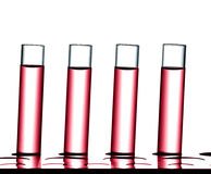 Science laboratory research, test tubes Stock Photos