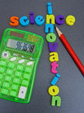 Science leads to innovation ! Stock Image