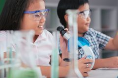 Science lesson Stock Photography