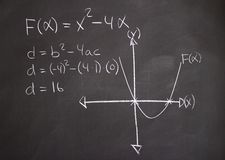 The science of mathematics Stock Photo