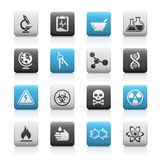 Science // Matte Icons Series vector illustration