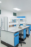 Science modern lab interior architecture. Royalty Free Stock Photos