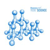 Science molecule. Royalty Free Stock Images