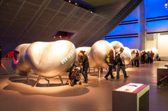 Science museum, London, UK. Interactive galleries.Explosions, bubbles, electric shocks and of course buttons – our interactive galleries give you the chance to Royalty Free Stock Photo