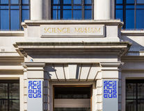 Science Museum in London Stock Photography