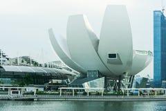 Science Museum at Marina Bay Sands Stock Photo
