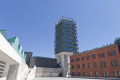 Science Museum of Valladolid Royalty Free Stock Photography