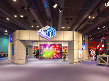 Science News Corner in Hong Kong Science Museum Stock Photos