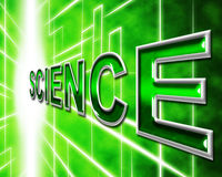 Science Online Means World Wide Web And Internet Stock Images